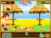 Beach Fruity Snack game