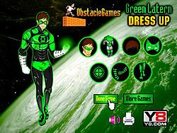 Green Lantern Dress Up game