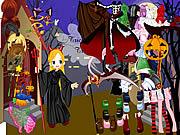 Halloween Dress game