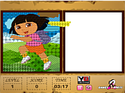 Dora Pixel Pixing game