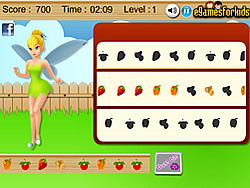 Tinkerbell Fruit Fun game