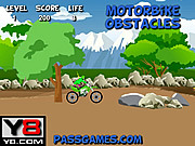 Motorbike Obstacles game
