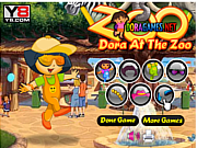 Dora At The Zoo game