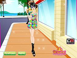 Play Fashion Crush Dressup game online Y8