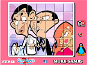 Mr Bean  spin puzzle game