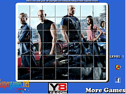 Fast And Furious 6 Spin Puzzle game