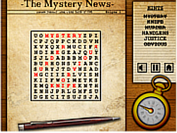 Mystery Words game