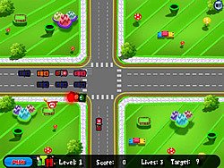 Mario World Traffic game