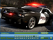 Police Cars Hidden Letters game