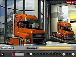 Truck Hidden Wheels game