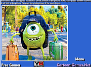 Monsters University Jigsaw game