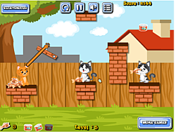 Cat Food Throw game