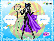 Cat Woman Dress up game