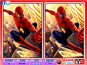 10 Differences Spiderman game