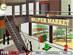 Stickman Death Shopping Mall game