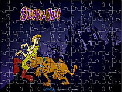 Scooby Doo Puzzle game