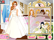 Barbie Wedding Dressup game