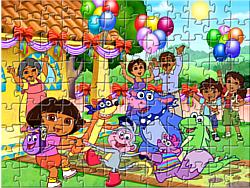 Dora Puzzle Jigsaw game