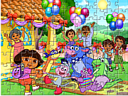 Dora Puzzle Jigsaw game