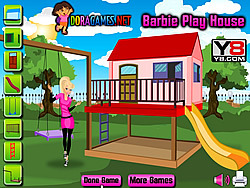 Barbie Play House game
