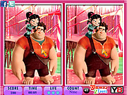 10 Differences Wreck it game