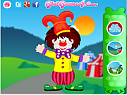Funny Clown Decorating game