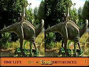 jeu Differences in Dino Land