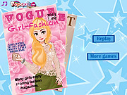 It girl-Fashion Magazine June Cover game