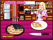 Barbie Cooking Pizza game