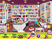 Cosmetics Shop Checks game