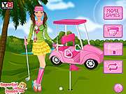 Golf Barbie game