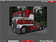 American Truck Puzzle game