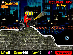 Ironman Bike Challenge game