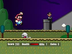 Super Mario Flash Halloween Version game