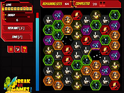 Iron Man Energy Match game