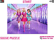 Barbie At School Jigsaw game