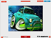 3D Car Jigsaw game