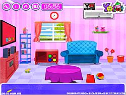 Deliberate Room Escape game