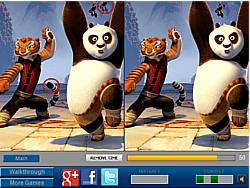 Panda and Friends Difference game