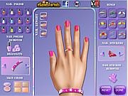 Princess Aurora Nails Makeover game