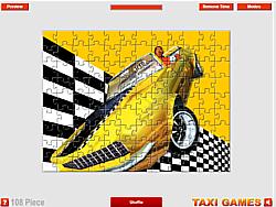 Crazy Taxi Jump game