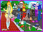 Play Street fashion dress up Game