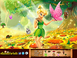 Tinkerbell Hidden Objects game