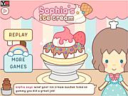 Sophias Ice cream game
