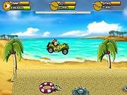 Monkey Kart game
