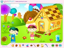 Hansel and Grethel Decoration game
