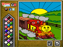 Thomas the Tank Online Coloring game