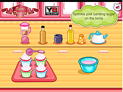 Hello Kitty Apples And Banana Cupcakes game