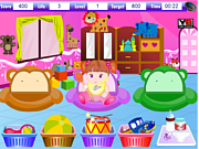 Baby Caring Helper game