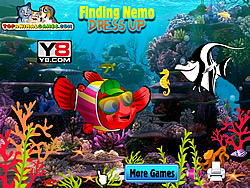 Finding Nemo Dressup game